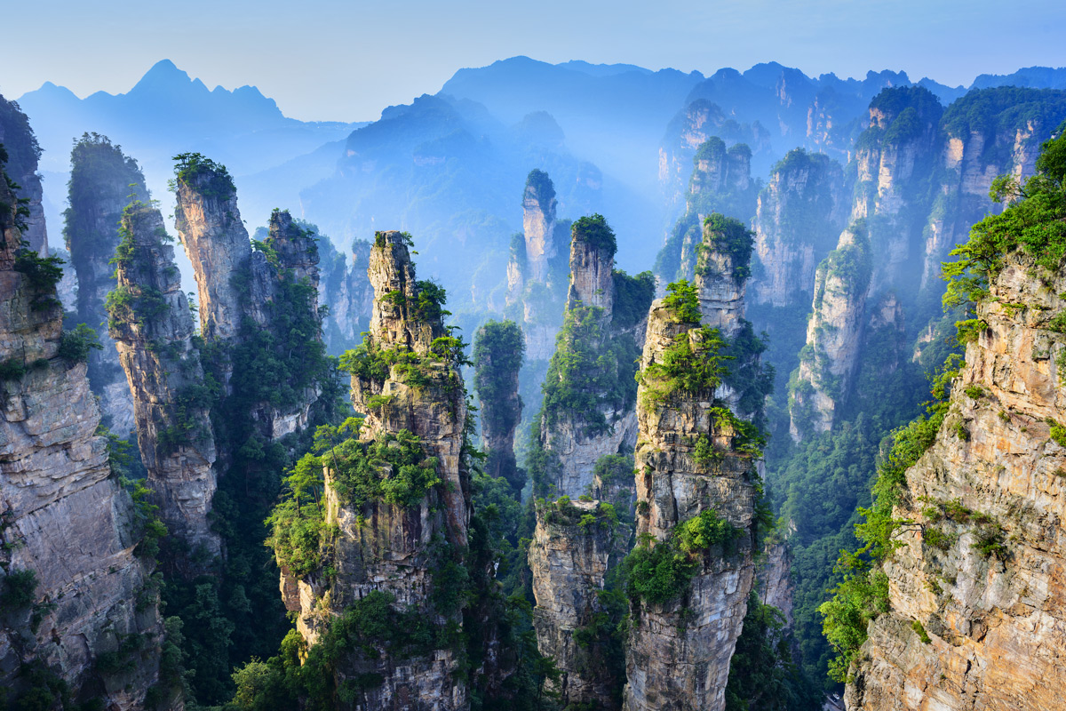 Wulingyuan Kanyonu