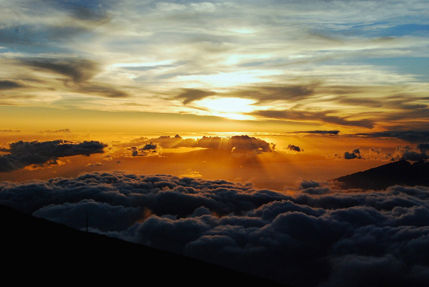 Haleakala Dağı, Hawaii