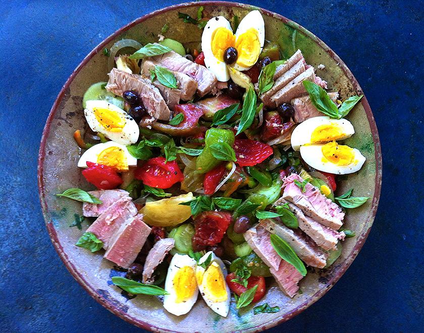 Nice Salatası (Salade Niçoise)