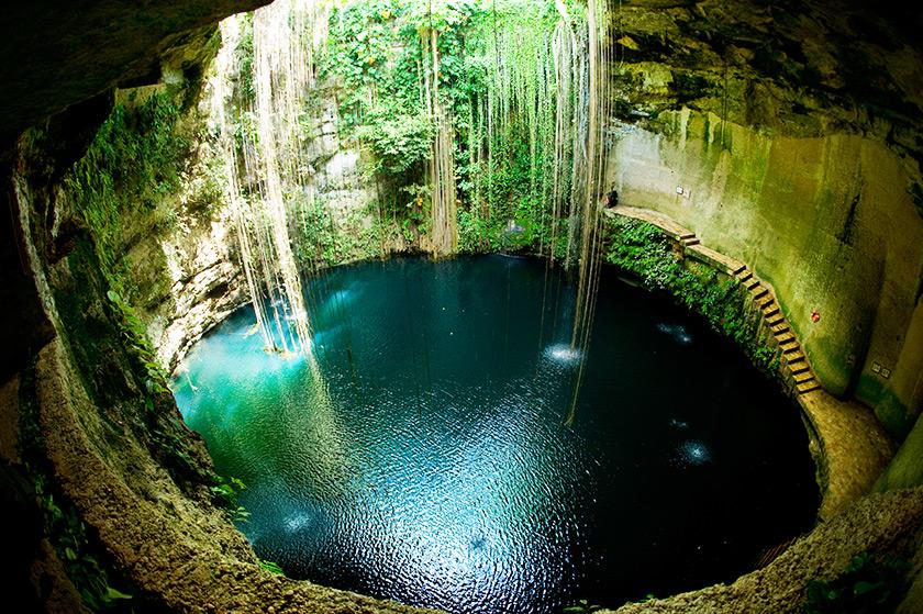 Cenote Ik Kil - Meksika