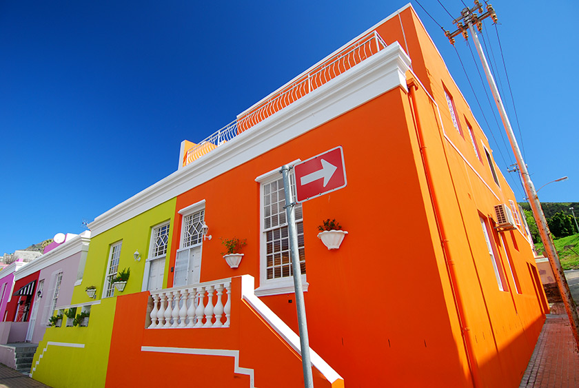 Bo-Kaap, Cape Town - Güney Afrika