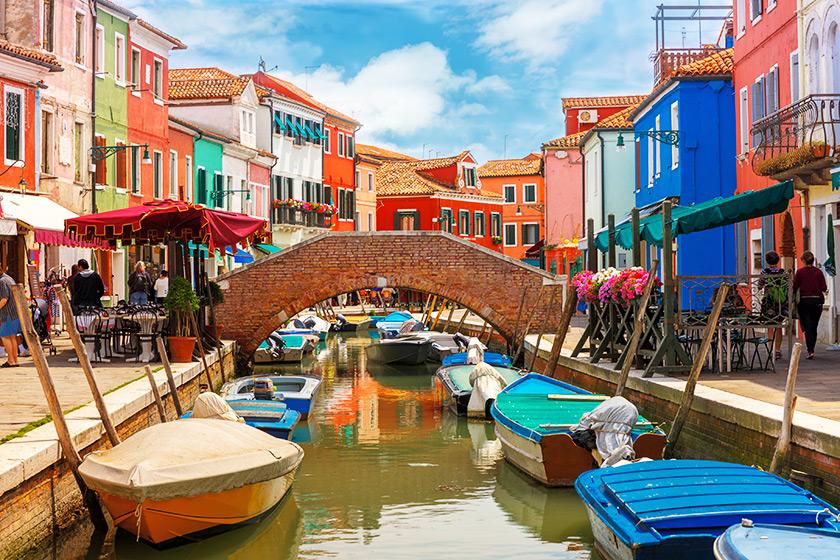 Burano - İtalya