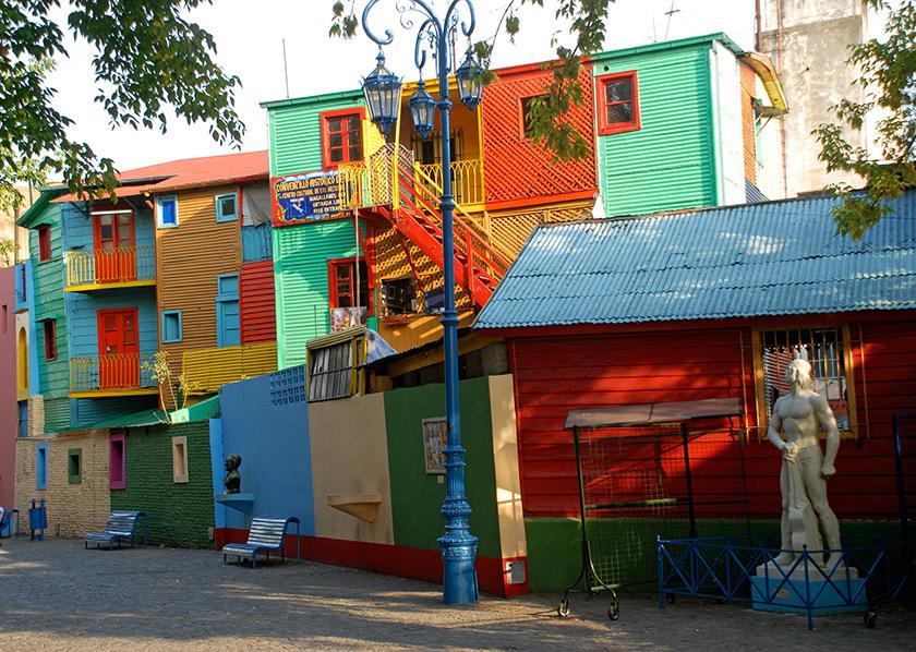 La Boca, Boenos Aires - Arjantin