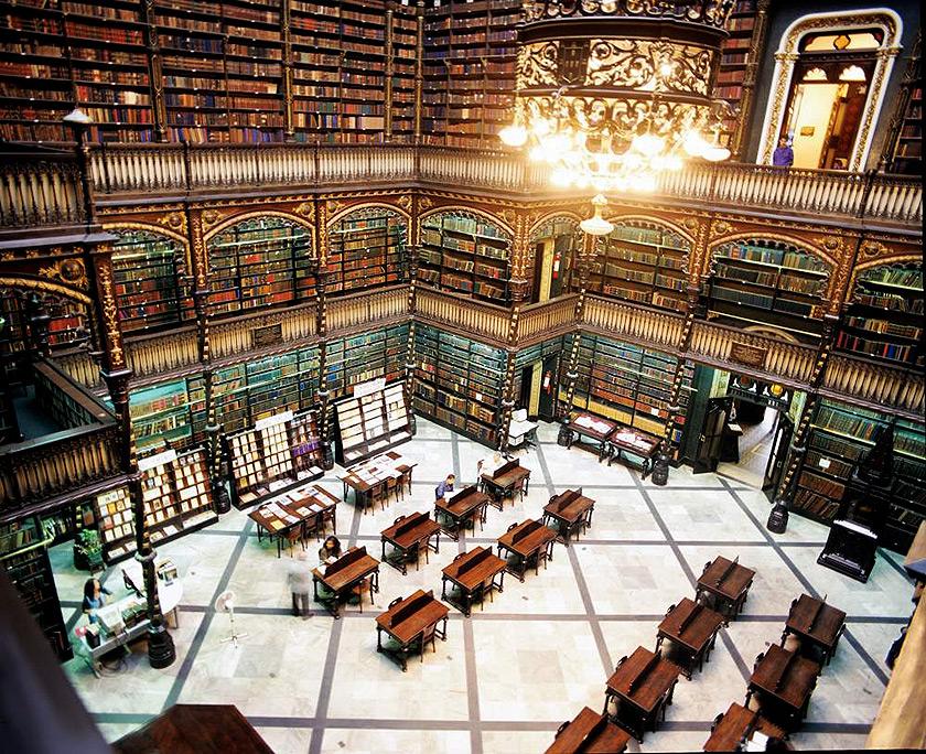 Portekiz Kraliyet Okuma Salonu, Brezilya