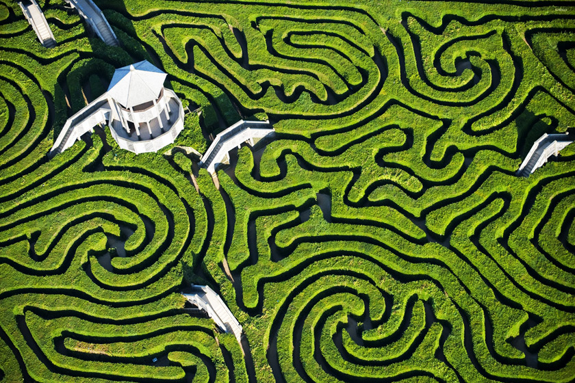 Longleat Hedge Labirenti, İngiltere