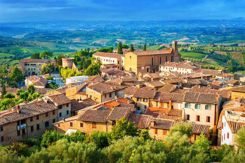 San Gimignano - Toskana
