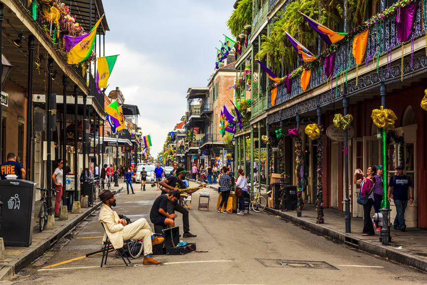 Caz ve Blues Kulüpleri - New Orleans