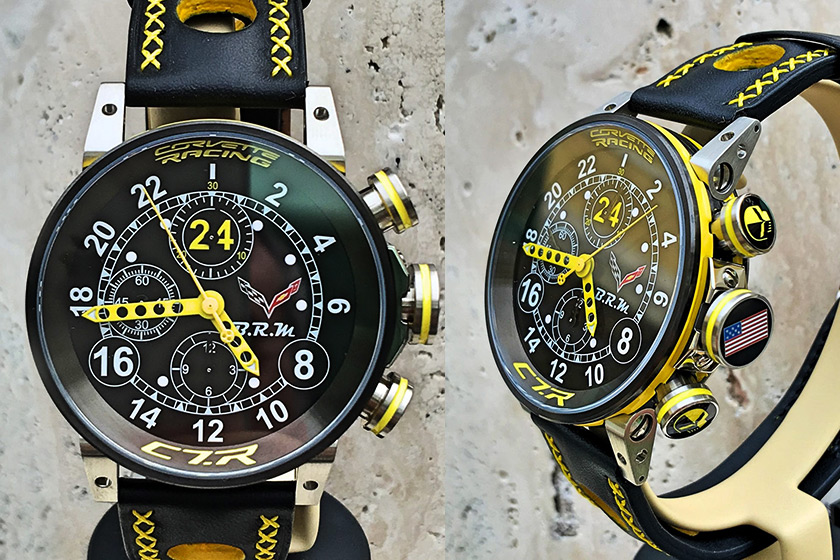 BRM Corvette C7.R 24h Chronograph Watch