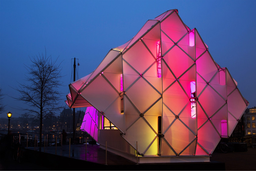 UNstudio's Eye_Beacon - Amsterdam