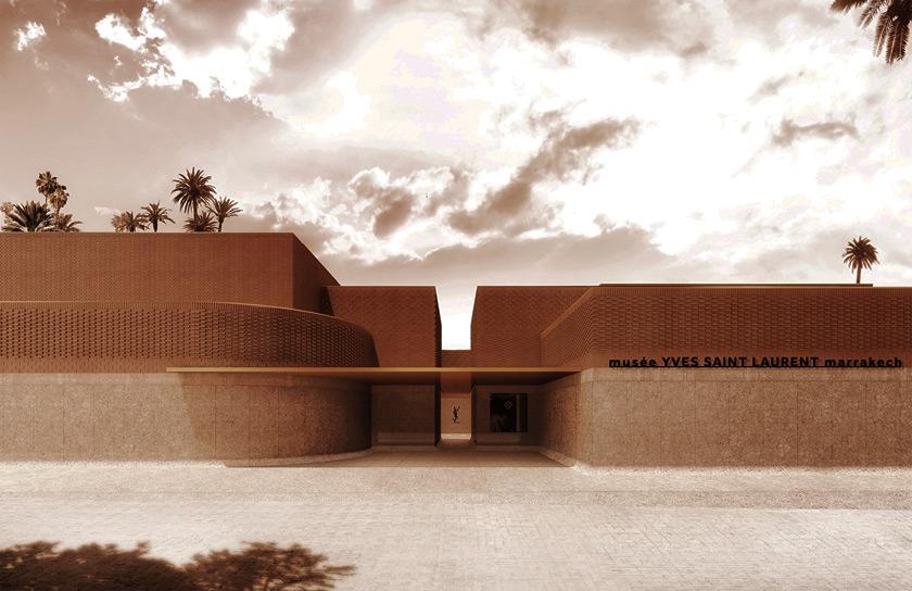 Yves Saint Laurent Müzeleri - Paris ve Marakeş
