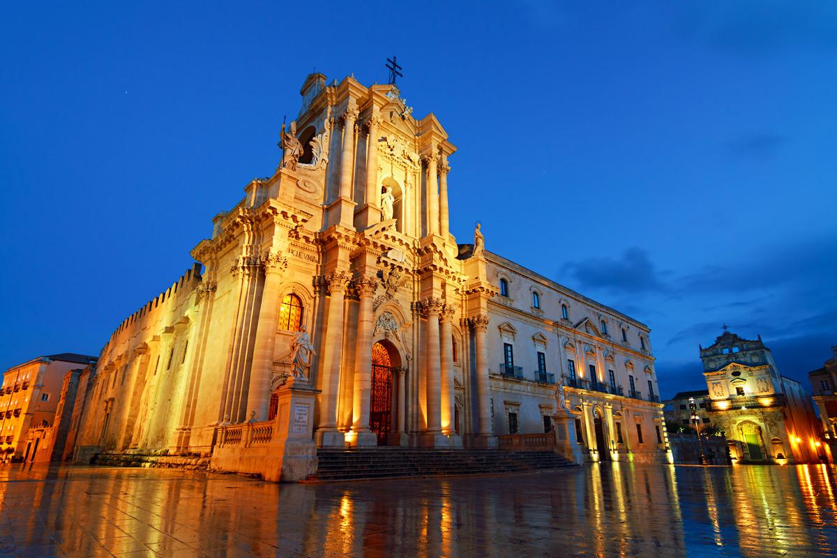 Piazza Duomo Syracuse