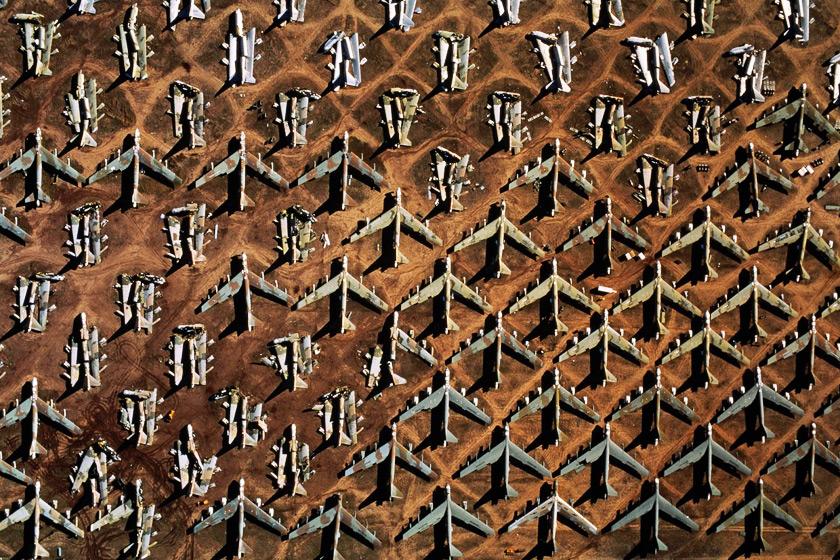 Uçak Mezarlığı - Arizona