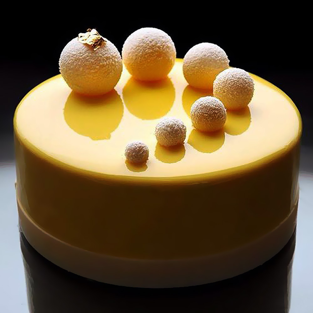 Желтая глазурь для торта рецепт