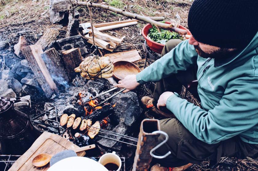 Doğada Açık Ateşte Pişirme