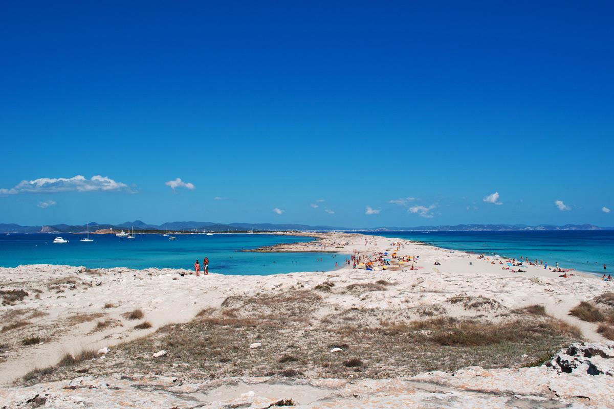 Playa De Ses Illetes - İspanya