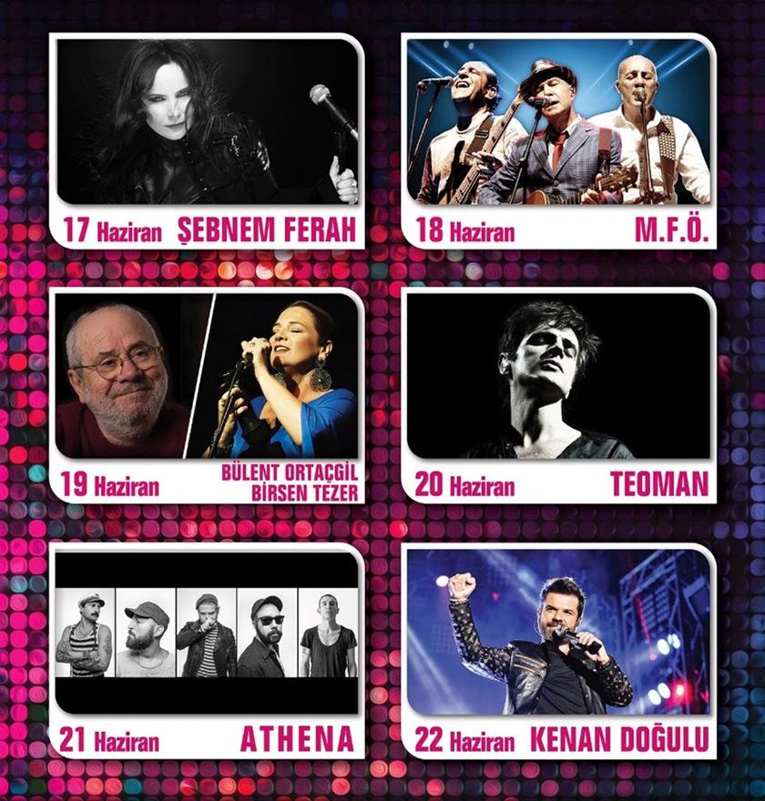 Zubizu Harbiye Açıkhava Konserleri