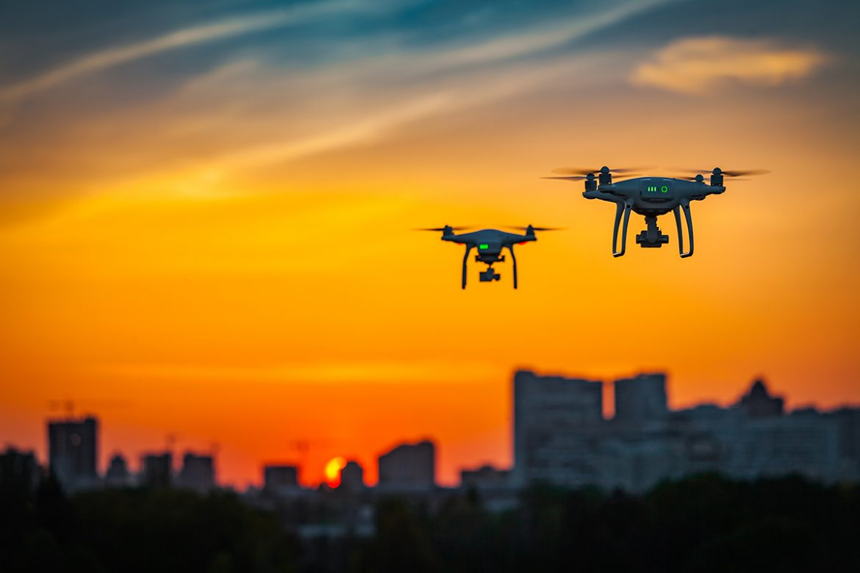 Dronlar Virüse Karşı